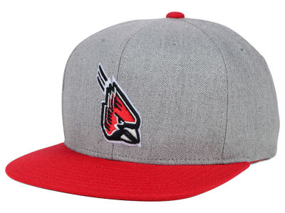 Ball State Cardinals adidas NCAA Stacked Box Snapback Cap