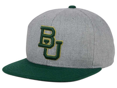 Baylor Bears adidas NCAA Stacked Box Snapback Cap