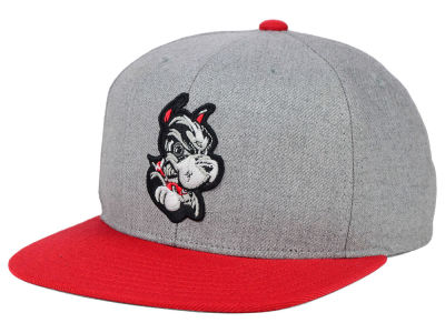 Boston Terriers adidas NCAA Stacked Box Snapback Cap