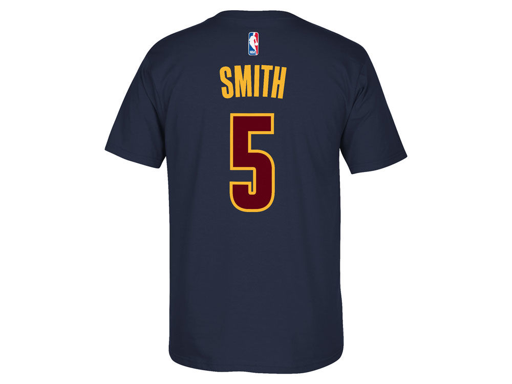 Cleveland Cavaliers J. R. Smith adidas NBA Men s Player T-Shirt ... b13bbea8d