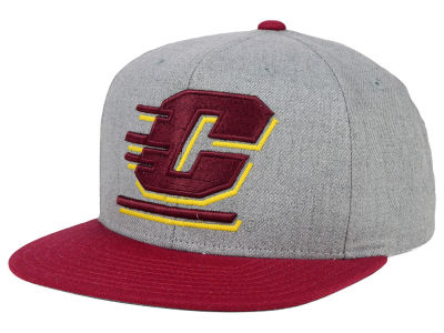 Central Michigan Chippewas adidas NCAA Stacked Box Snapback Cap