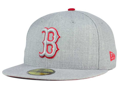 Boston Red Sox New Era MLB Heather League Basic 59FIFTY Cap