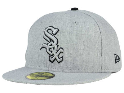 Chicago White Sox New Era MLB Heather League Basic 59FIFTY Cap