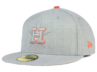 Houston Astros New Era MLB Heather League Basic 59FIFTY Cap