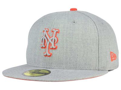 New York Mets New Era MLB Heather League Basic 59FIFTY Cap