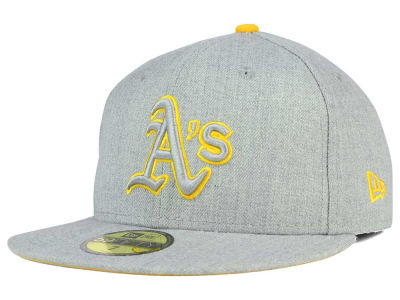 Oakland Athletics New Era MLB Heather League Basic 59FIFTY Cap