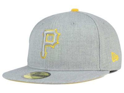 Pittsburgh Pirates New Era MLB Heather League Basic 59FIFTY Cap