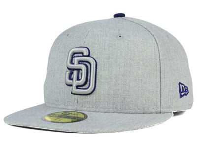 San Diego Padres New Era MLB Heather League Basic 59FIFTY Cap