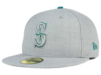 Seattle Mariners New Era MLB Heather League Basic 59FIFTY Cap
