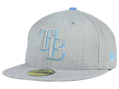 Tampa Bay Rays New Era MLB Heather League Basic 59FIFTY Cap