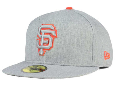 San Francisco Giants New Era MLB Heather League Basic 59FIFTY Cap