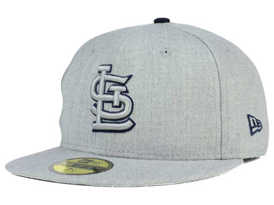 St. Louis Cardinals New Era MLB Heather League Basic 59FIFTY Cap