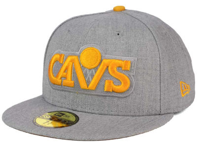 Cleveland Cavaliers New Era NBA HWC Heather League Basic 59FIFTY Cap
