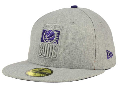 Phoenix Suns New Era NBA HWC Heather League Basic 59FIFTY Cap