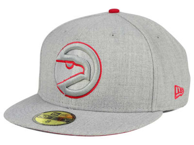 Atlanta Hawks New Era NBA HWC Heather League Basic 59FIFTY Cap