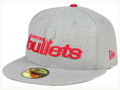 Washington Bullets New Era NBA HWC Heather League Basic 59FIFTY Cap