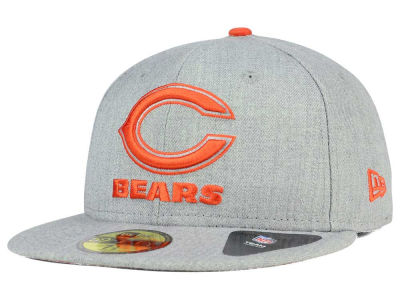 Chicago Bears New Era NFL Heather League Basic 59FIFTY Cap