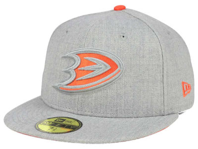Anaheim Ducks New Era NHL Heather League Basic 59FIFTY Cap