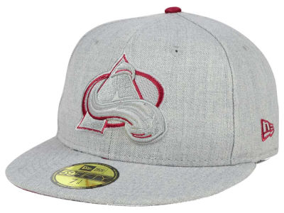 Colorado Avalanche New Era NHL Heather League Basic 59FIFTY Cap