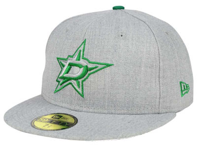 Dallas Stars New Era NHL Heather League Basic 59FIFTY Cap
