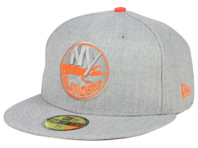 New York Islanders New Era NHL Heather League Basic 59FIFTY Cap