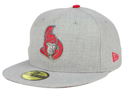 Ottawa Senators New Era NHL Heather League Basic 59FIFTY Cap