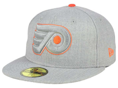 Philadelphia Flyers New Era NHL Heather League Basic 59FIFTY Cap