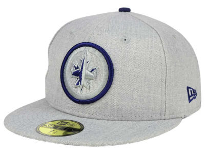 Winnipeg Jets New Era NHL Heather League Basic 59FIFTY Cap