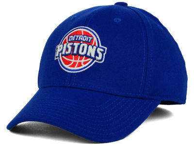 Detroit Pistons adidas NBA Structured Basic Flex Cap