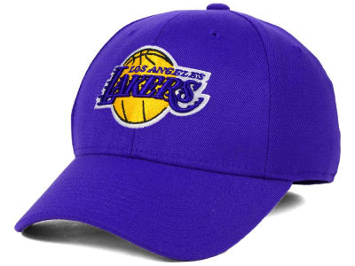 Los Angeles Lakers adidas NBA Structured Basic Flex Cap