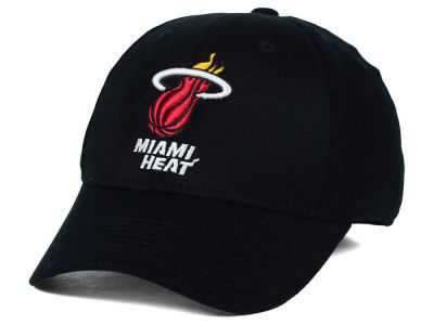 Miami Heat adidas NBA Structured Basic Flex Cap