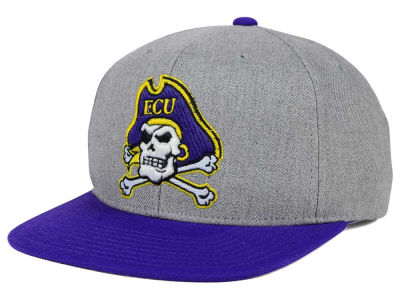 East Carolina Pirates adidas NCAA Stacked Box Snapback Cap