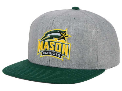 George Mason Patriots adidas NCAA Stacked Box Snapback Cap