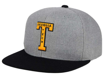 Georgia-Tech adidas NCAA Stacked Box Snapback Cap
