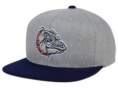 Gonzaga Bulldogs adidas NCAA Stacked Box Snapback Cap