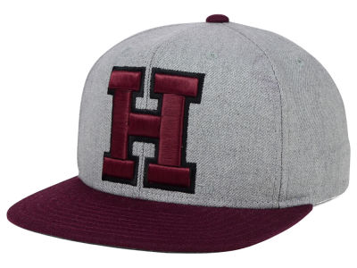 Harvard Crimson adidas NCAA Stacked Box Snapback Cap