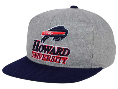 Howard University Bisons adidas NCAA Stacked Box Snapback Cap