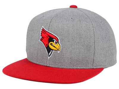 Illinois State Redbirds adidas NCAA Stacked Box Snapback Cap