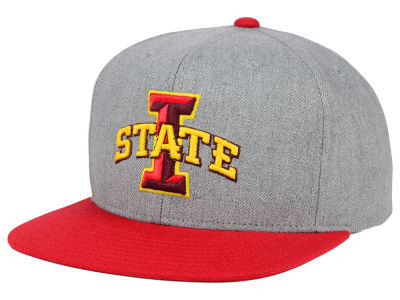 Iowa State Cyclones adidas NCAA Stacked Box Snapback Cap