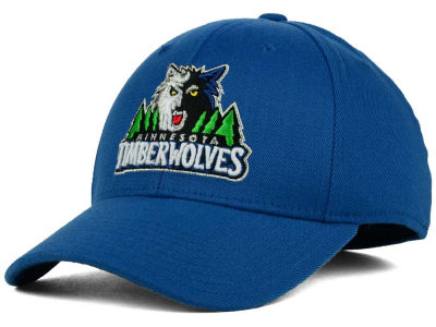 Minnesota Timberwolves adidas NBA Structured Basic Flex Cap