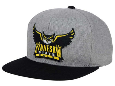 Kennesaw State Owls adidas NCAA Stacked Box Snapback Cap
