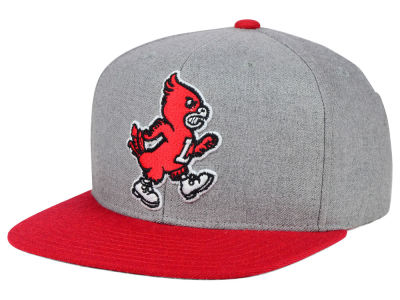 Louisville Cardinals adidas NCAA Stacked Box Snapback Cap