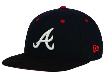 Atlanta Braves New Era MLB Tribal Tone 9FIFTY Snapback Cap