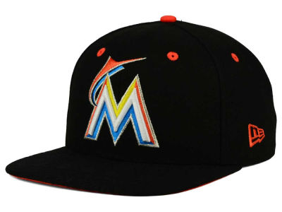 Miami Marlins New Era MLB Tribal Tone 9FIFTY Snapback Cap