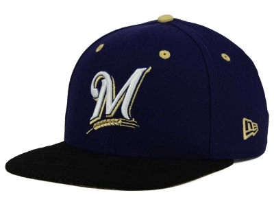 Milwaukee Brewers New Era MLB Tribal Tone 9FIFTY Snapback Cap