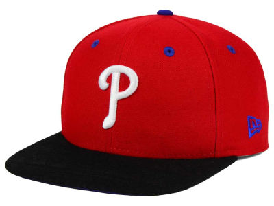 Philadelphia Phillies New Era MLB Tribal Tone 9FIFTY Snapback Cap