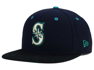 Seattle Mariners New Era MLB Tribal Tone 9FIFTY Snapback Cap
