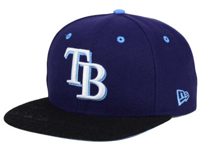 Tampa Bay Rays New Era MLB Tribal Tone 9FIFTY Snapback Cap