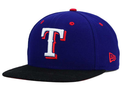 Texas Rangers New Era MLB Tribal Tone 9FIFTY Snapback Cap