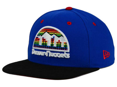 Denver Nuggets New Era NBA HWC Tribal Tone 9FIFTY Snapback Cap